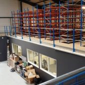 Mezzanine entrepôt
