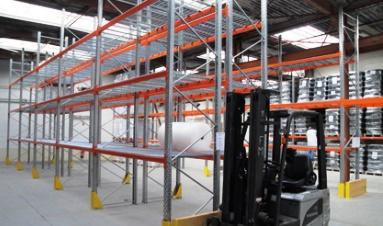 Rack de stockage ou palettier nouvelles normes europ ennes - Rack de stockage brico depot ...