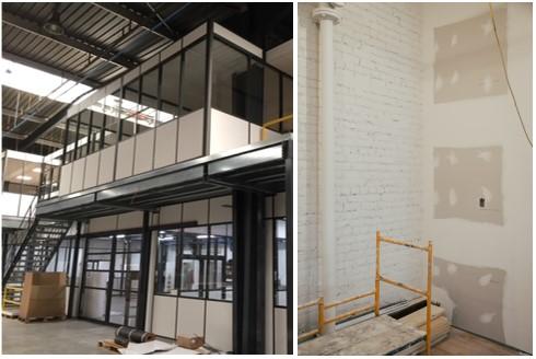 projet mezzanine industrielle vs conctruction